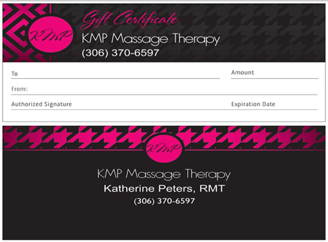 Kathy's Gift Certificates